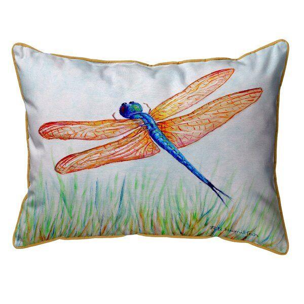 Virgina Dragonfly Indoor Outdoor Lumbar Pillow In 2020 Pillows Small Pillows Large Pillows
