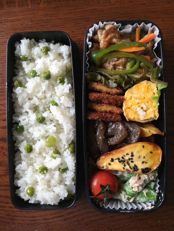 Obentou 2016.5.9 豆ごはんの季節