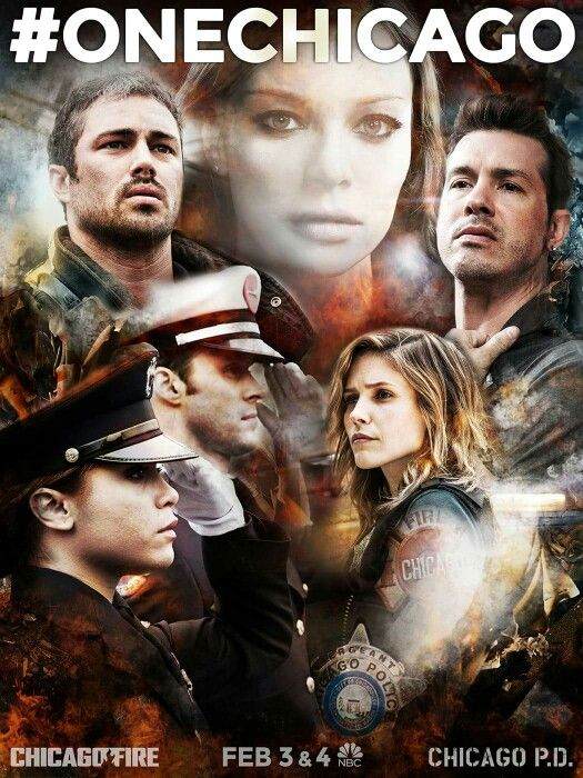 One Chicago! - Chicago Fire and Chicago PD 2 night event tonight! 2/3
