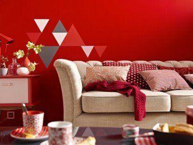 36 best AMBIANCE // Rouge images on Pinterest | Attic, Acrylic art ...