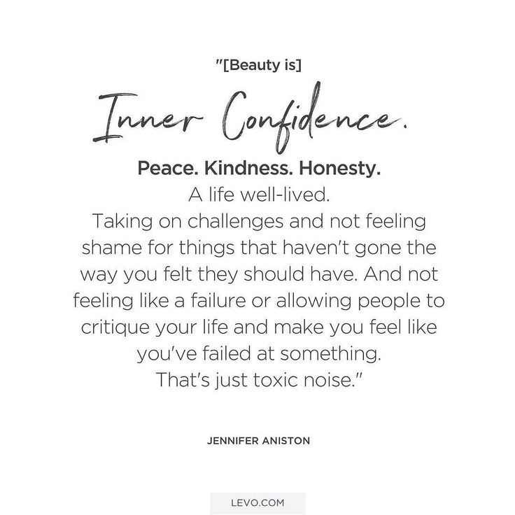 Cut out the toxic noise. Wise words from Jennifer Aniston. #levoinspired