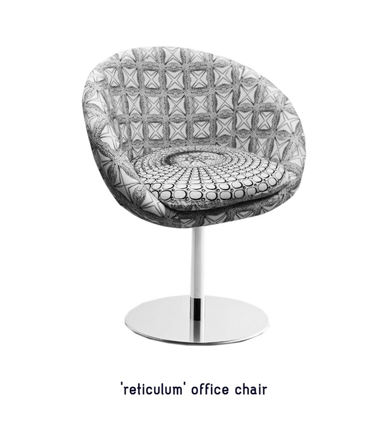 'reticulum' office chair