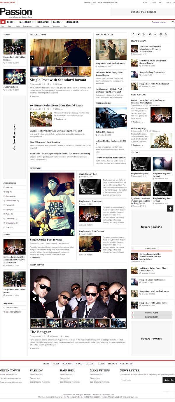 Responsive-WordPress-Theme-ScreenShort
