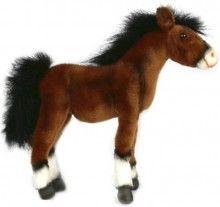 Clydesdale Foal Horse Plush Toy Hansa Creations   www.minizoo.com.au