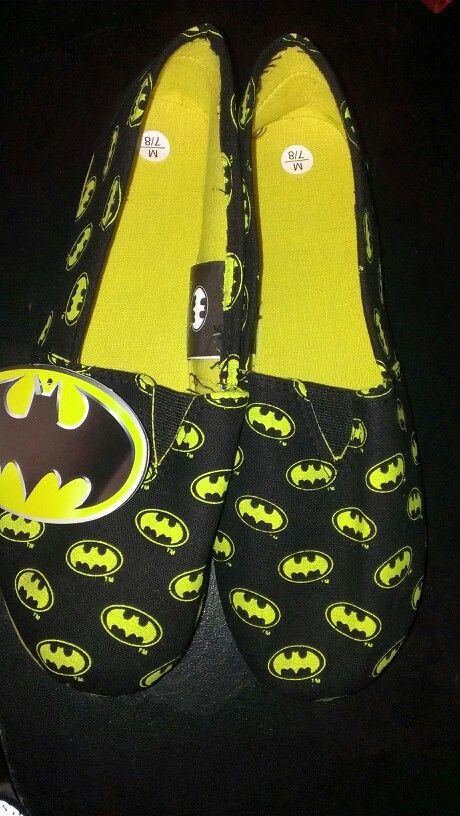 Batman shoes <3