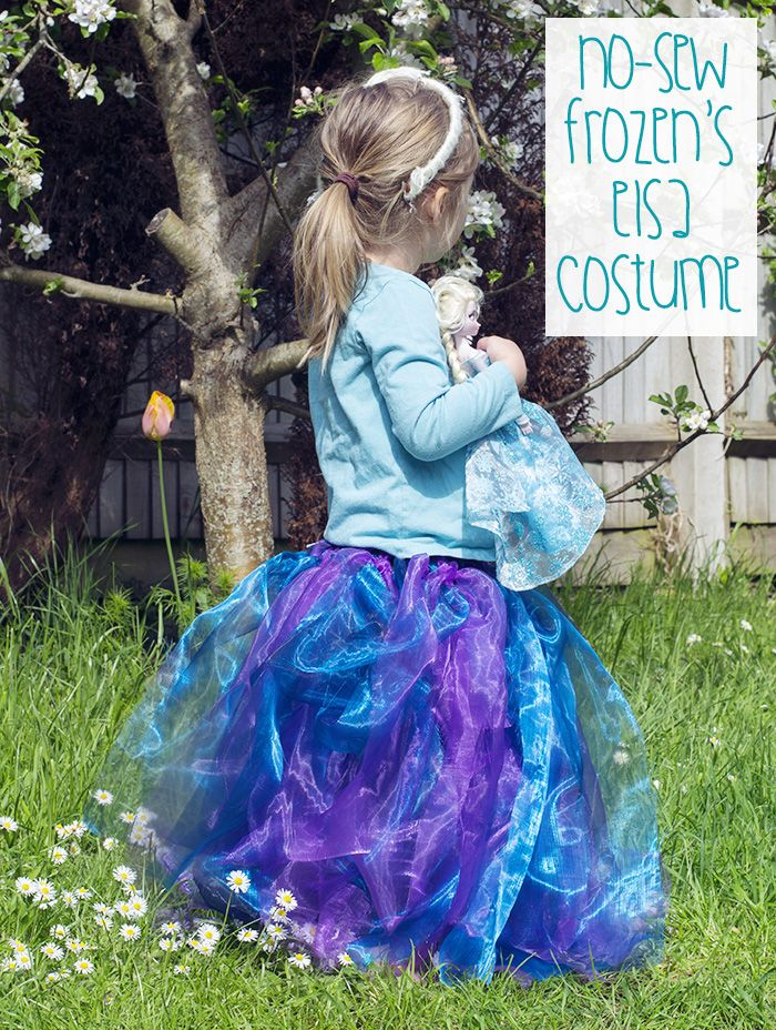 how to make an elsa costume for halloween