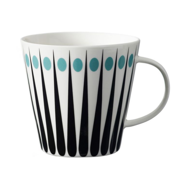 Superliving Danish Scandinavian Design Retro Vintage Amanda Cup Mug Blue Scandinavian Mugs Kitchen Cups Mugs