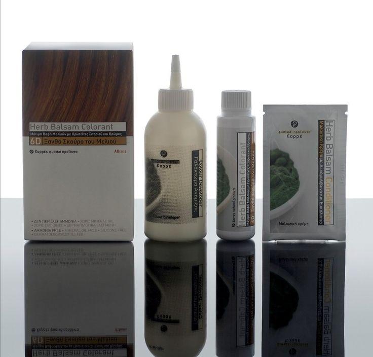 proteines davoine ble coloration naturelle pour cheveux haute brillance korres - Coloration Sans Ppd