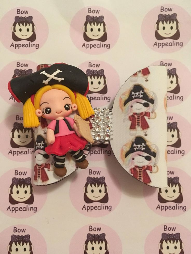 A personal favourite from my Etsy shop https://www.etsy.com/uk/listing/572350338/girl-pirate-hair-bow-for-girls