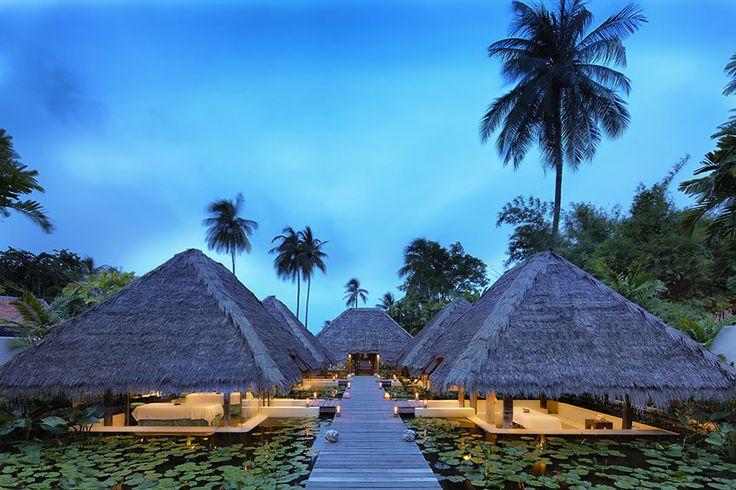 Treatment pavilions, Six Senses Spa Hua Hin at Evason Hua Hin, Thailand http://www.sixsenses.com/evason-resorts/hua-hin/spa