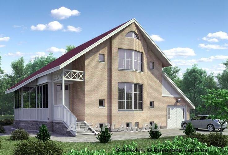 «Конформ»  - загородный дом с гаражом и верандой