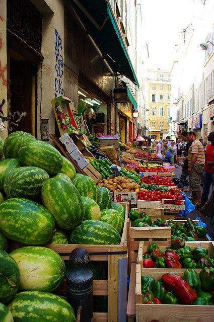 Marseille, Quartier de Noailles