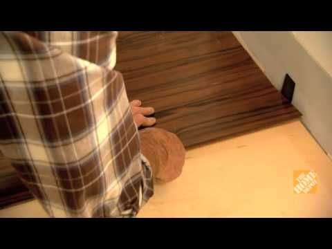 How To Install Laminate Flooring - YouTube