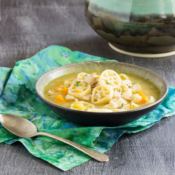 Turkey Noodle Soup | Thanksgiving | Pinterest