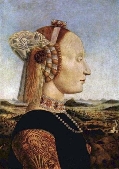 Piero della Francesca, Battista Sforza, Duchess of Urbino, c. 1465 - 1470  https://www.artexperiencenyc.com/social_login/?utm_source=pinterest_medium=pins_content=pinterest_pins_campaign=pinterest_initial
