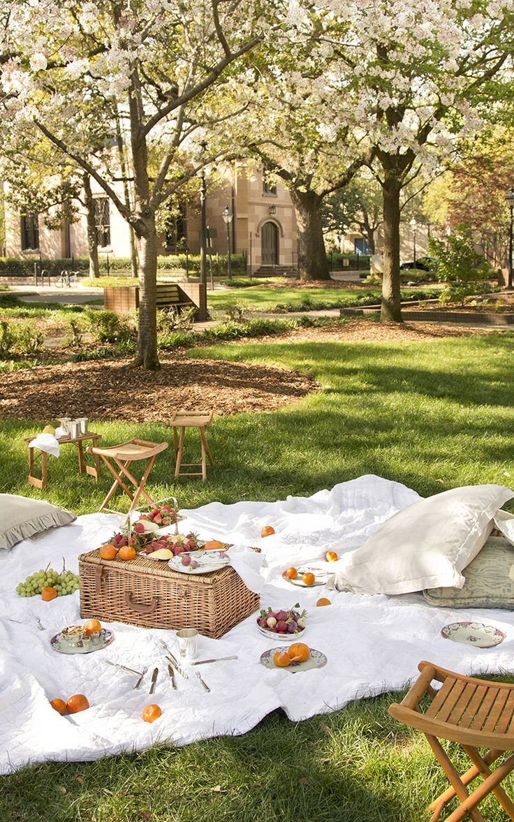 The perfect afternoon; a picnic in the park (with mom!) Check out our Mother's Day gift guide on Moda Operandi!
