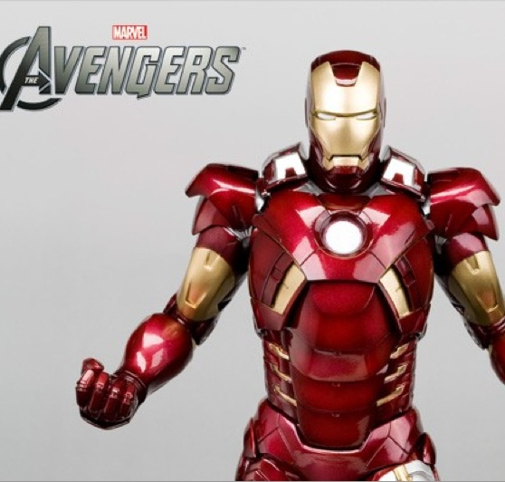 Marvel Kotobukiya Avengers Iron Man Suit Statue