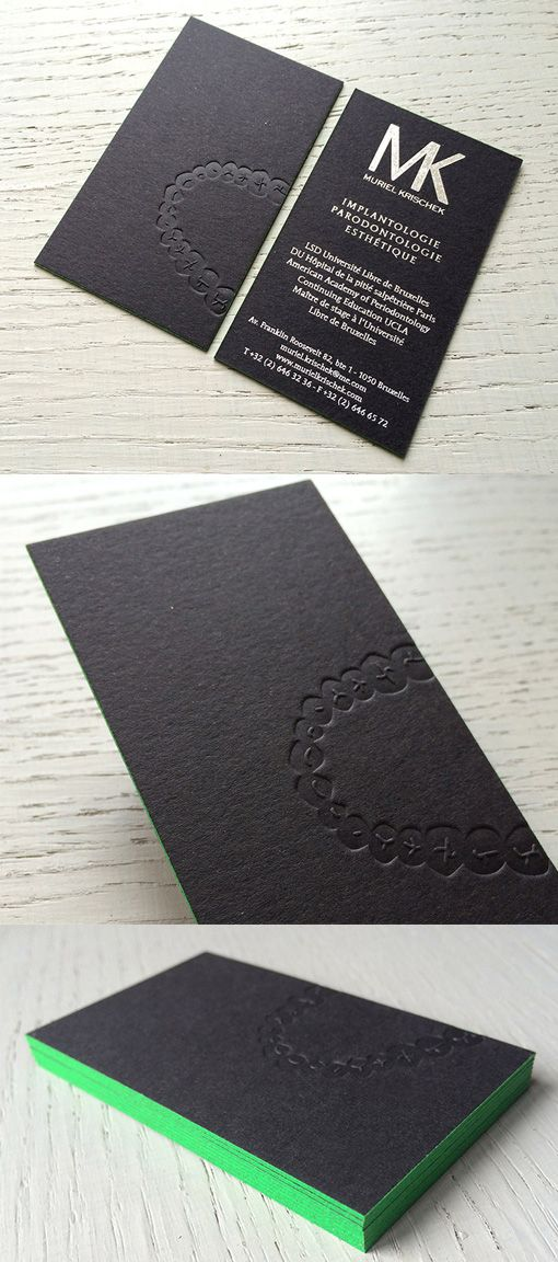 Clever Bite Mark Business Card For A Dentist