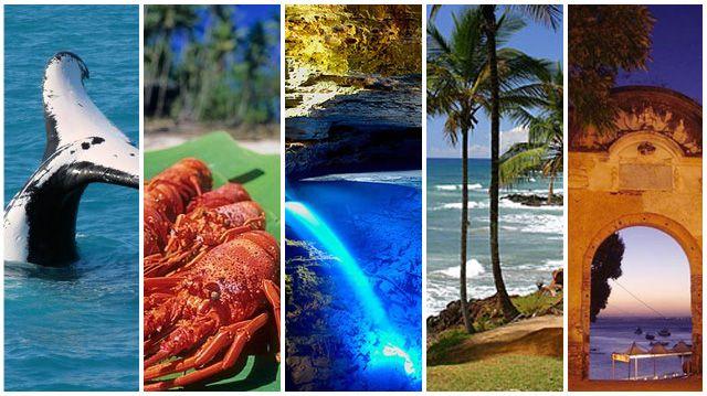 5 Destinos de Férias na Bahia