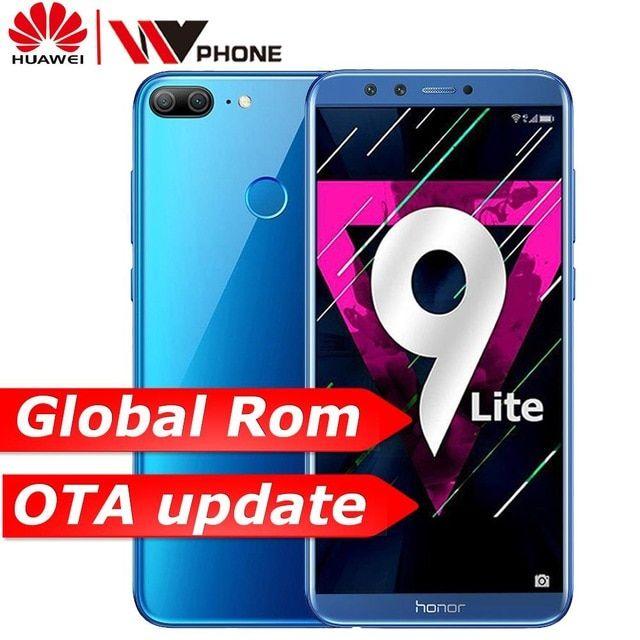 Huawe Honor 9 Lite Honor9 Lite 5 65 Octa Core 2160 1080p Mobile Phone Dual Font Rear Camera 3000mah Fingerprint Faceid Review Face Id Huawei