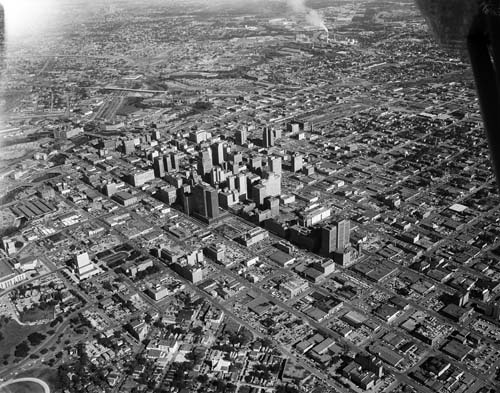 Downtown Houston Tx 1950 Old Maps Amp History In 2019