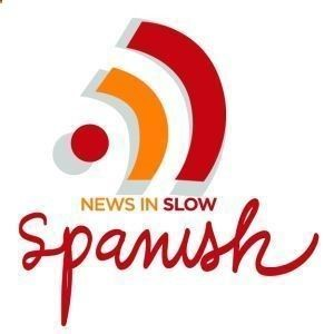 News in Slow Spanish/also available in French ~ amazing resource! #spanishlanguagetips