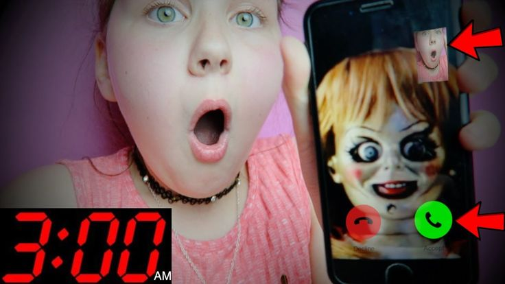 DO NOT FACETIME CALL ANNABELLE DOLL AT 3:00 AM! *THIS IS WHY!* - YouTube
