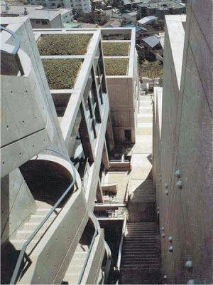 Rokko Housing Tadao Ando