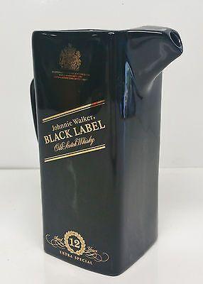Vintage Johnnie Walker Black Label Old Scotch Whisky Jug ** Free Shipping **