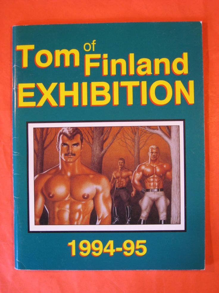 Tom of Finland Exhibition 1994-95 by Tom of Finland / Touko by Pistilbooks on Etsy