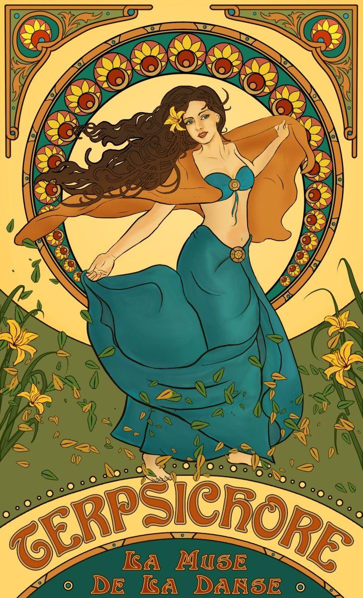 Art nouveau posters art nouveau poster dance and deviantart - Art deco and art nouveau ...