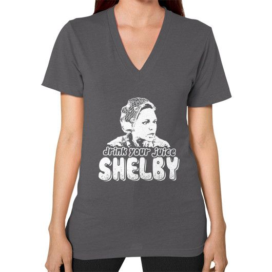 DRINK YOUR JUICE SHELBY V-Neck (on woman)