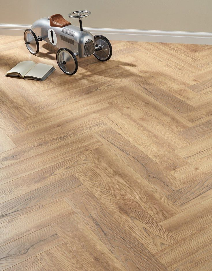 Herringbone Regency Oak Laminate Flooring in 2020 Oak