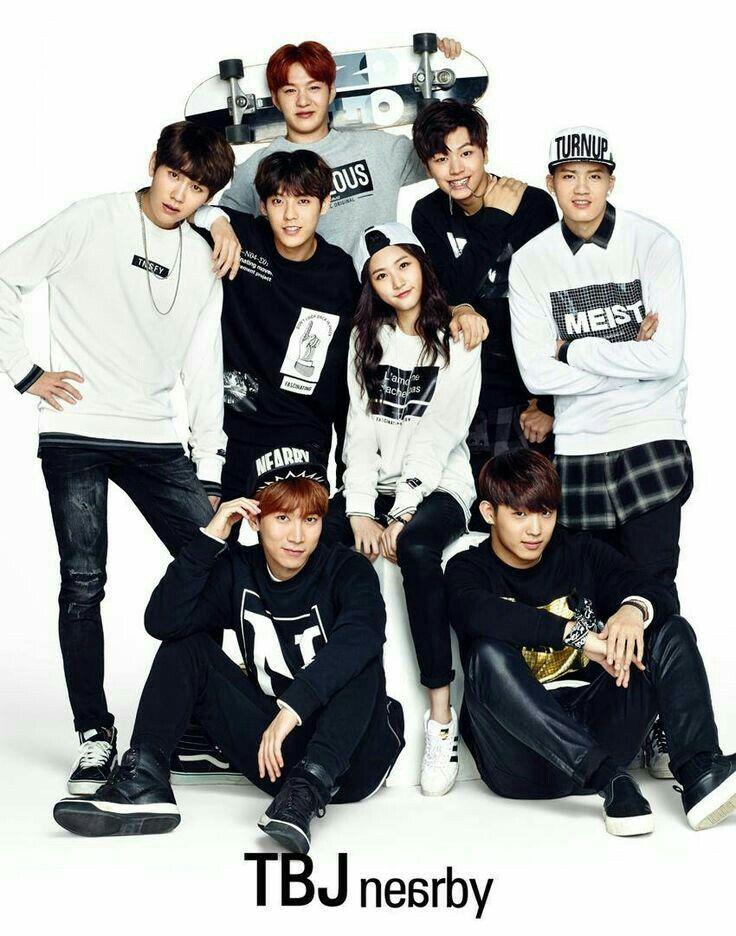 BTOB with Kim Sae Ron