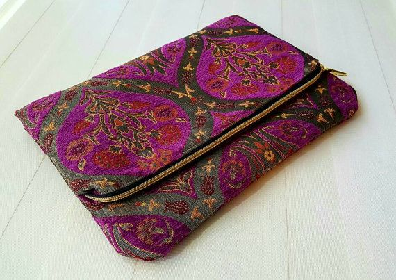 Check out this item in my Etsy shop https://www.etsy.com/listing/481851048/large-foldover-clutch-handmadefree-dust