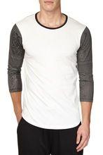 asian clothing t shirt wholesale china 3/4 sleeve raglan t-shirt  best seller follow this link http://shopingayo.space