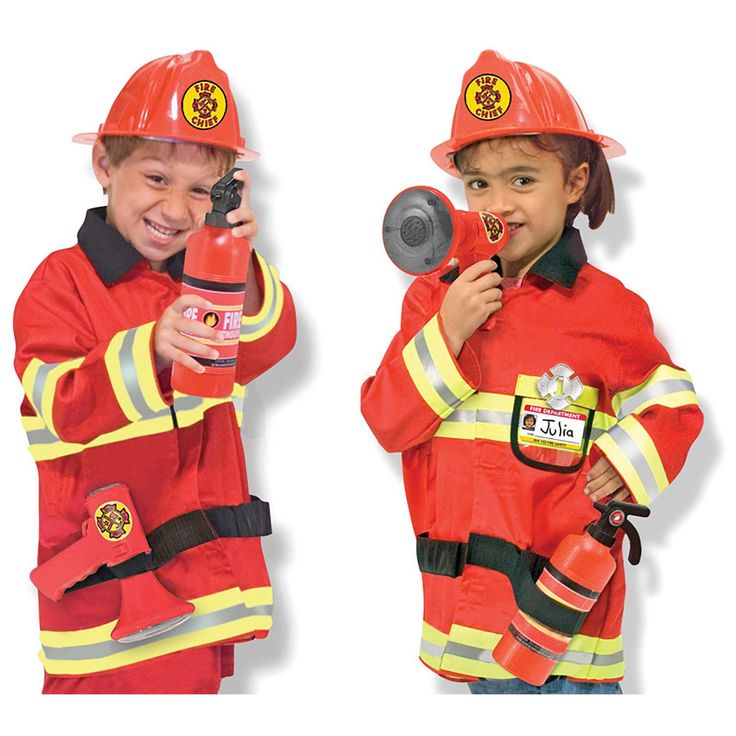 M&D - Fire Chief Role Play Costume Set | BIG W