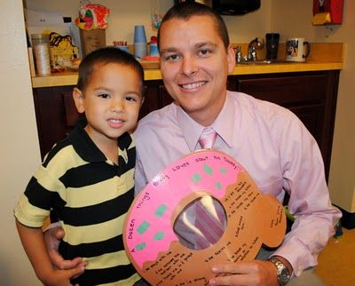 Sweet Metel Moments: Free Printable - Donuts With Dad
