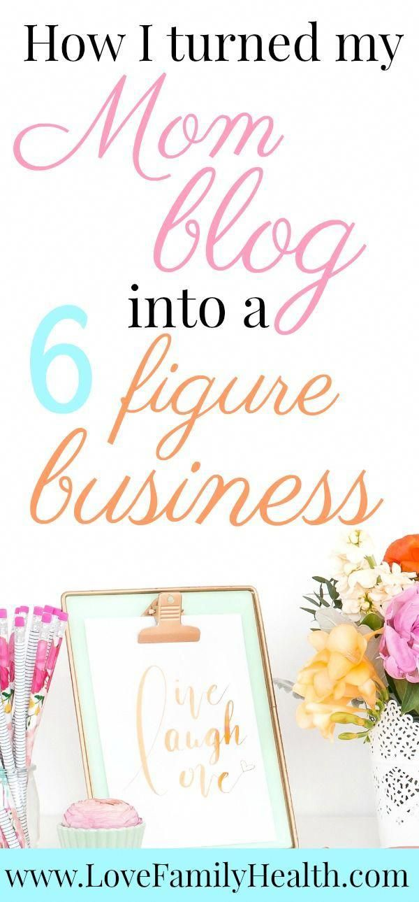 The Steps I Took To Turn My Blog Into A 6 Figure Business Hobby Meaning Pinterest How To Make Make Money Blogging And Mom Blogs