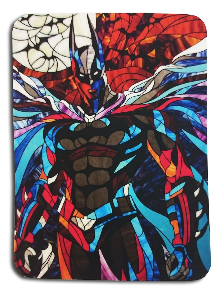 """Heroic Magnet """"Batman"""". Photos of the classic stained glass in the Tiffany technique https://www.etsy.com/ru/listing/263805272/heroic-magnet-batman-photos-of-the?ref=shop_home_active_8 #stainedglass #batman #thedarkknigth #dc #dccomics #comics  #glassart #art #artbrothers #витраж #magnet #gift"""