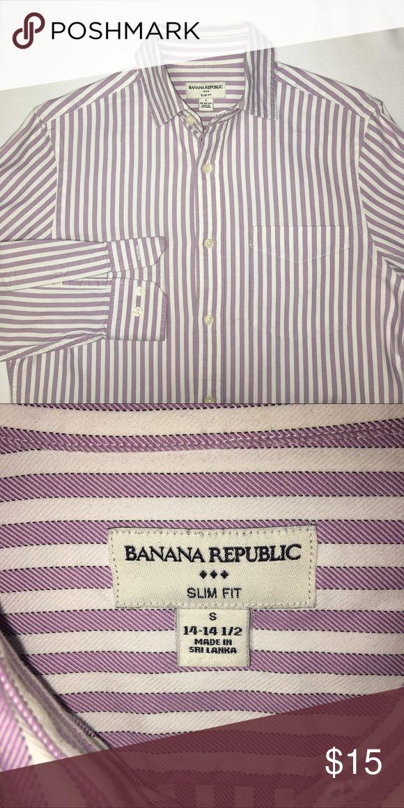 Banana Republic slim fit dress shirt (14-14 1/2) Banana Republic slim fit dress shirt (14-14 1/2) Banana Republic Shirts Dress Shirts