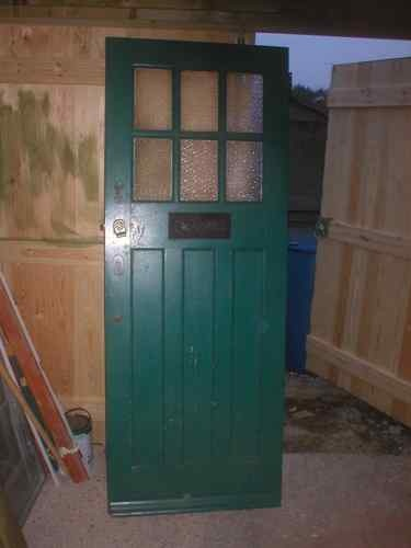 Edwardian-would love to find an old door like this to refinish for the front of our house.