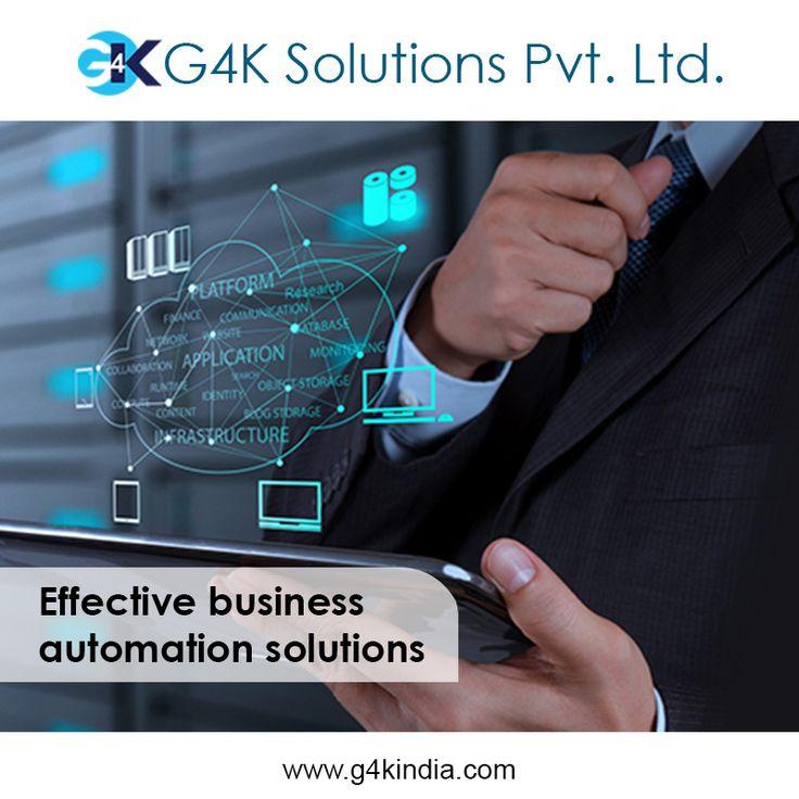 Effective business automation solution  Platform to grow your business. Our platform, your business.  http://www.g4kindia.com #business #automation #b2b #b2c