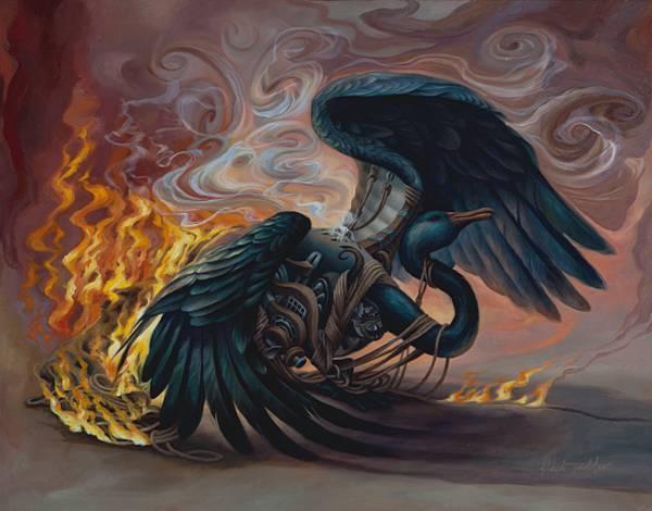 dying_black_swan