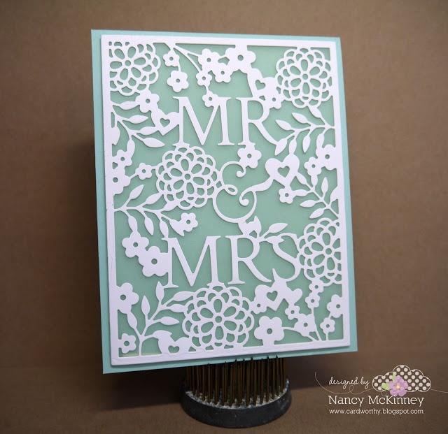 Card Worthy: Taylored Expressions May Sneak Peek: Mr & Mrs