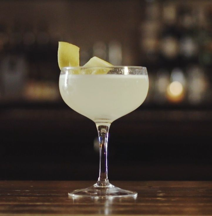 French 75 Cocktail Recipe-I always feel like a fancy lady of ill repute when I drink these during the day.