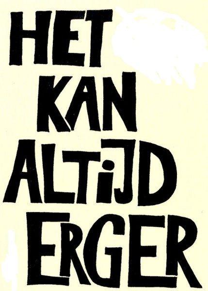Het kan altijd erger - it can always get worse. Visit: www.emilieslanguages.com or https://www.facebook.com/emilieslanguages #emilieslanguages  #dutch #darwin