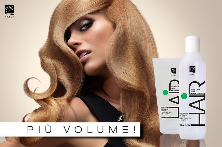 Per #capelli fini e privi di volume, arricchiti con estratto di #aloe vera e alghe dalle proprietà volumizzanti.