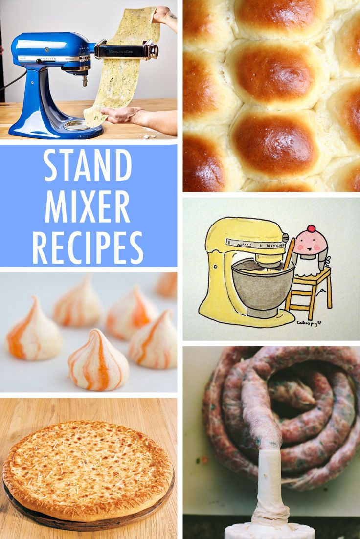 Discover 7 things you probably didn't know you could make with your stand mixer.