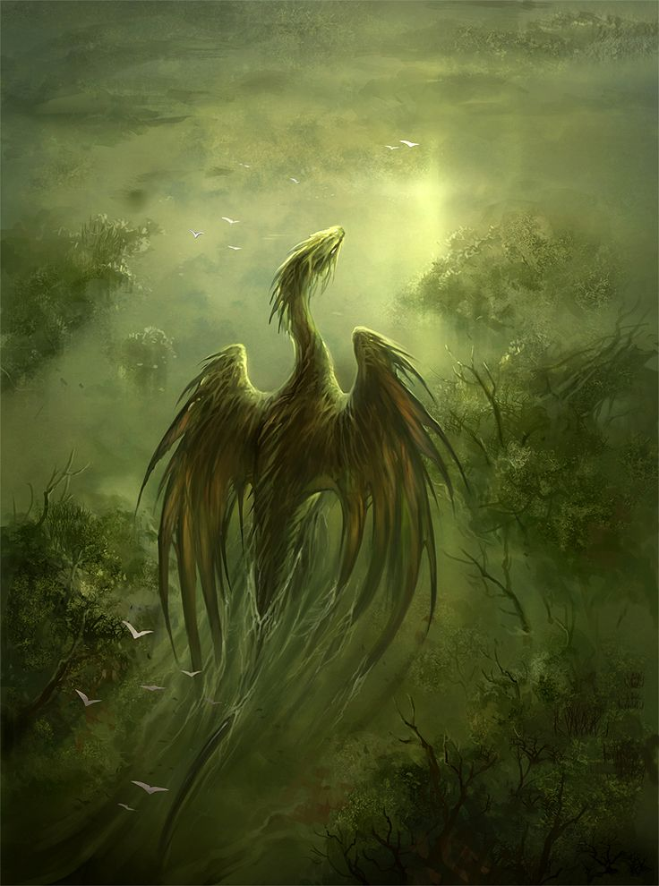 swamp dragon by sandara.deviantart.com on @DeviantArt